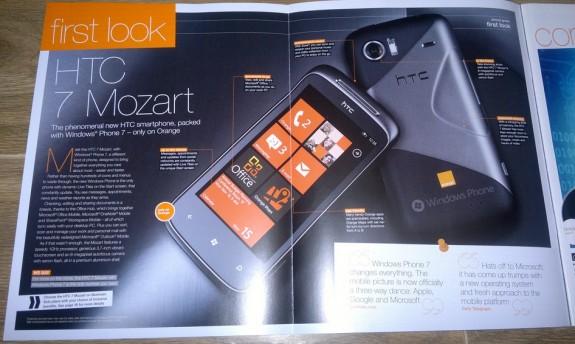 HTC 7 Mozart обзор