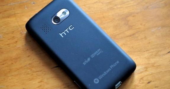 HTC Surround задняя панель пластик soft touch