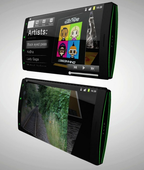 Flip Phone концепт раскладушки