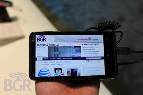 HTC HD7S на CTIA 3