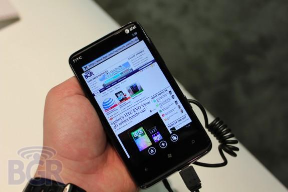 HTC HD7S на CTIA 2