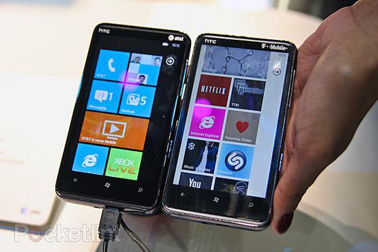 HTC HD7S на CTIA