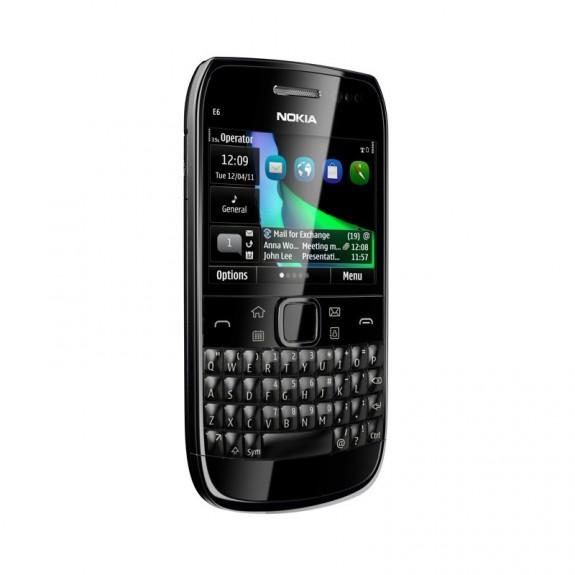 Nokia E6 - 1