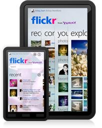 Официальное приложение Flickr для Windows Phone 7