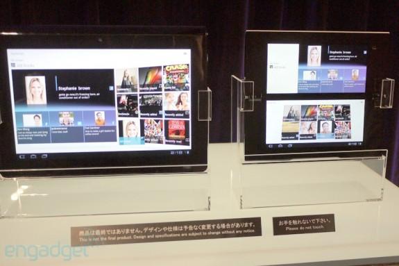 Состоялась официальная презентация Honeycomb-планшетов Sony S1 и S2