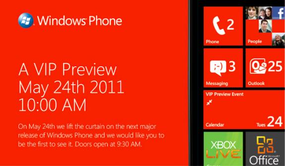 Microsoft расскажет про «следующий большой релиз Windows Phone» 24 мая