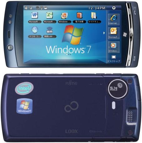 Fujitsu продемонстрировала LOOX F-07C, смартфон с двумя ОС на борту