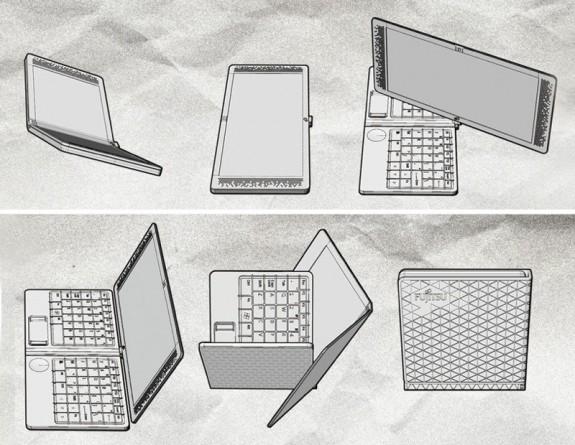 Новый концепт ноутбука-трансформера от Fujitsu 2