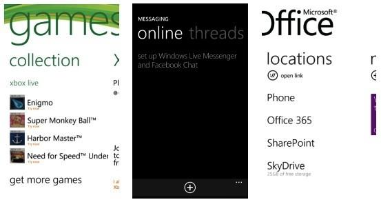 Office 365, Facebook Chat и Xbox Live в Windows Phone 7.5 Mango