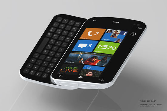 Nokia работает над смартфоном Windows Phone 7 с QWERTY-клавиатурой?