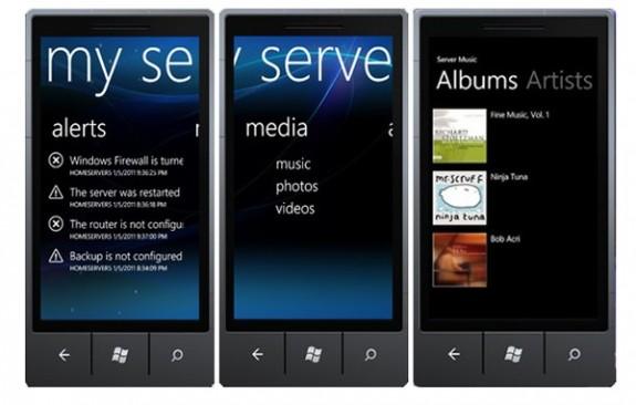 Подключаем смартфон с Windows Phone Windows Home Server с Phone Connector