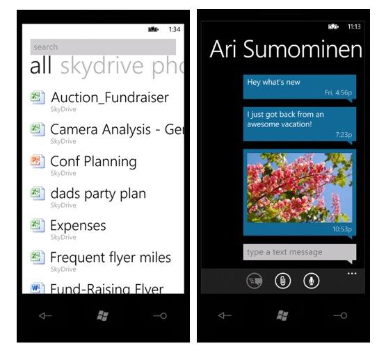 Как будет работать SkyDrive в Windows Phone Mango