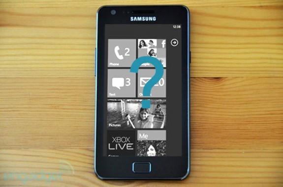 Samsung Galaxy S II с Windows Phone 7?