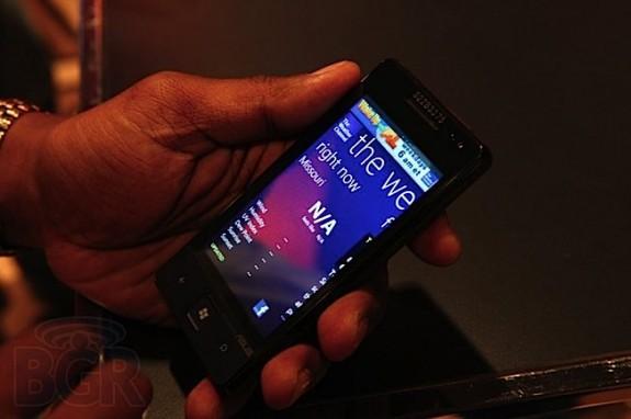 Смартфоны с Windows Phone 7 Mango на презентации Microsoft