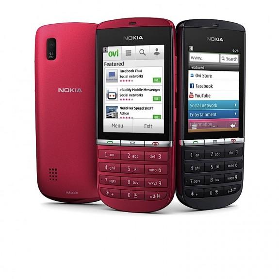 Новые телефоны Nokia Asha