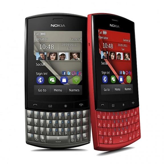 Nokia Asha с полноценной клавиатурой