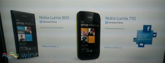Анонс Lumia 800 и Lumia 710