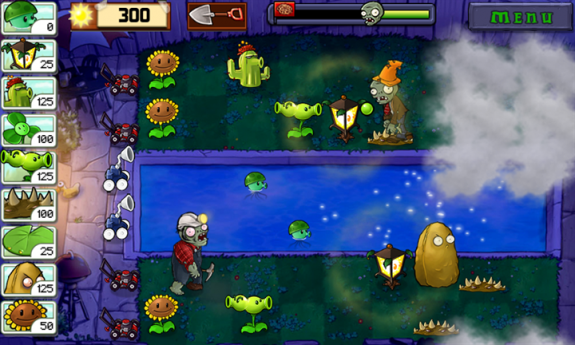 Plants vs Zombies - 4