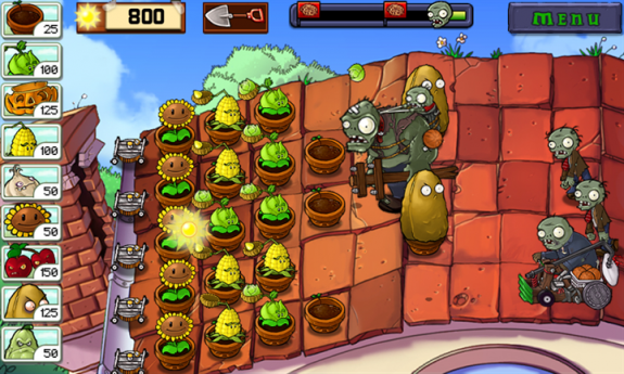 Plants vs Zombies - 5