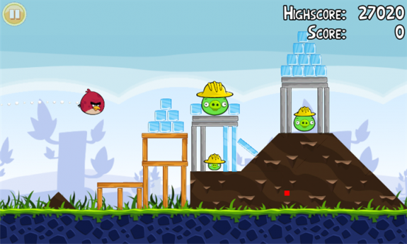 Обзор Angry Birds Windows Phone