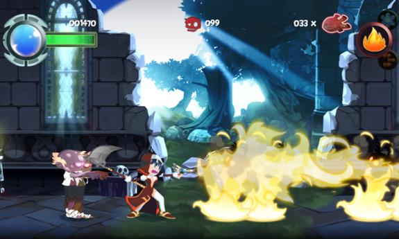 Twin Blades скриншот