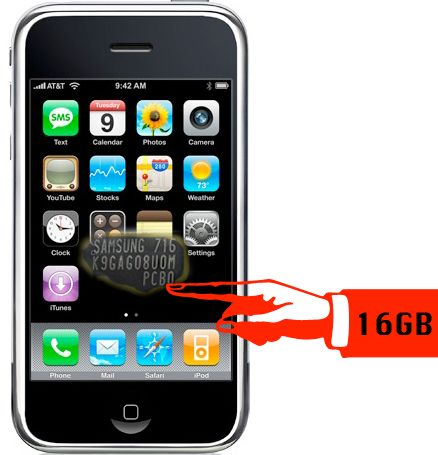 16gb iphone