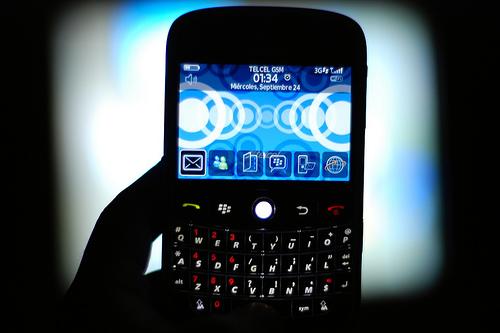 дисплей BlackBerry Bold