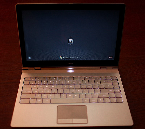 Adamo - новый ноутбук от компании Dell