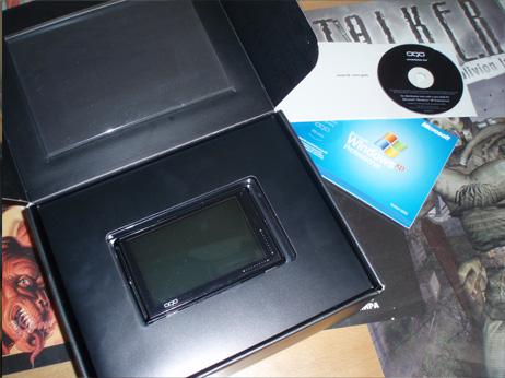 Коробка с oqo